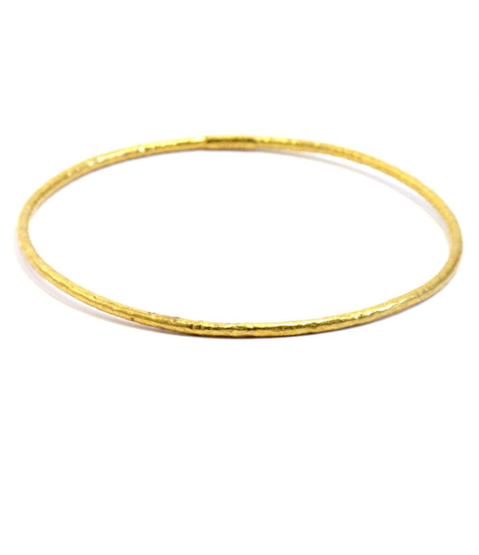 Ara 24K Classic Gold Bangle