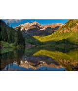 """First Snow at Maroon Bells"""