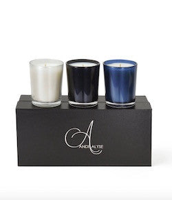 Andi Alyse Three Votive Candle Set