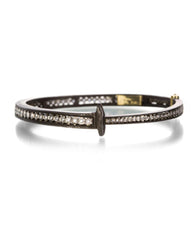 Pat Flynn Full Diamond Stripe Nail Bracelet