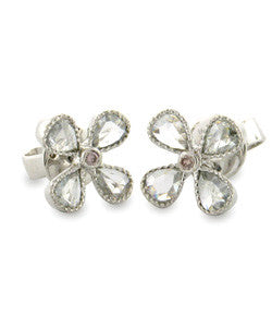 Sethi Couture 'Petal' Diamond Stud Earrings