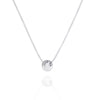 MEN'S JUST BE - Sterling Silver Necklace