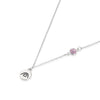 BE CREATIVE - Sterling Silver Necklace with Swarovski® Crystal