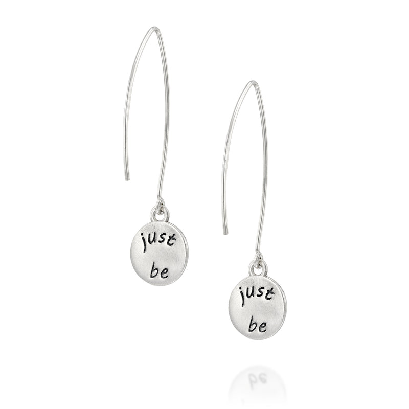 JUST BE - Sterling Silver Earrings
