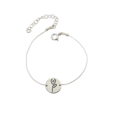 Bracelet - Tree Pose Bracelet In Sterling Silver