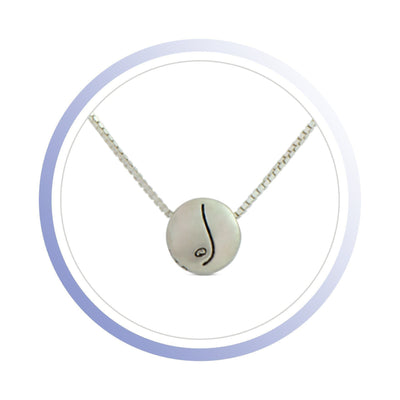 Necklace - BE FREE - Sterling Silver Pendant Box Chain Necklace
