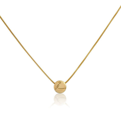 Necklace - BE LOVE - Gold Pendant Necklace