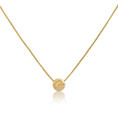 Necklace - BE PURE - Gold Pendant Necklace