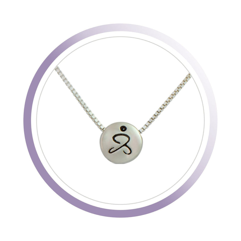 JUST BE - Sterling Silver Pendant Box Chain Necklace