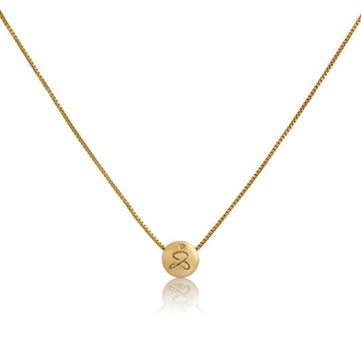 Necklaces - JUST BE - Gold Pendant Necklace