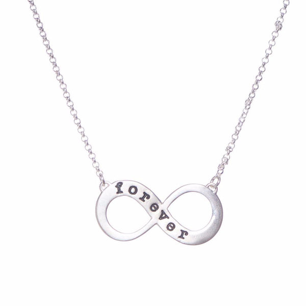 Infinity Sterling Silver Necklace