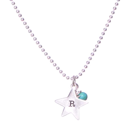 Evening Starlet Sterling Silver Pendent Necklace