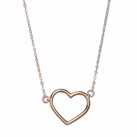 Gold Plated Sweetheart Necklace