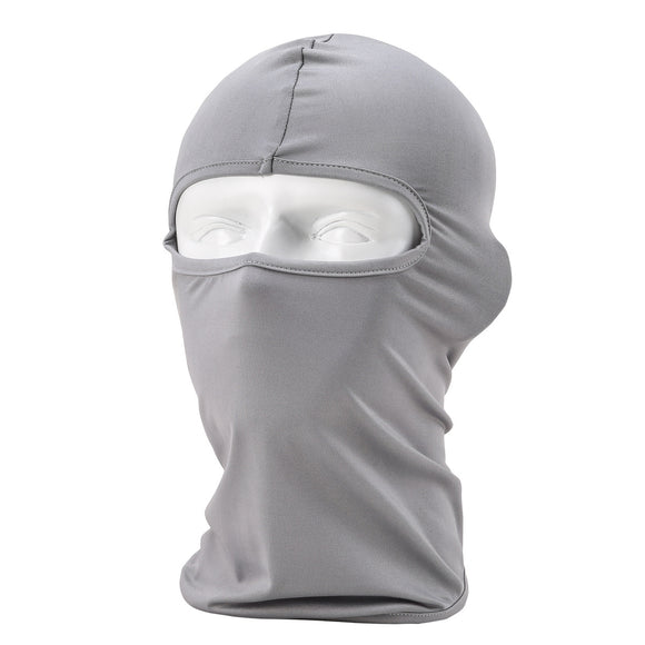 Summer Balaclavas Mask with Lycra Fabric [Gray]