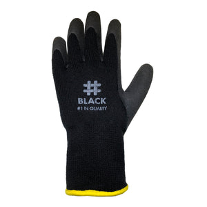 #1 FAN Black Gloves