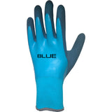 #1 FAN Blue Gloves
