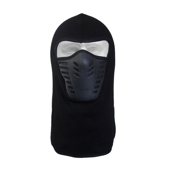 Full Face Balaclava Fleece Mask [Black]