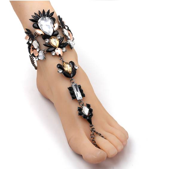 Black Diamond Foot Chain