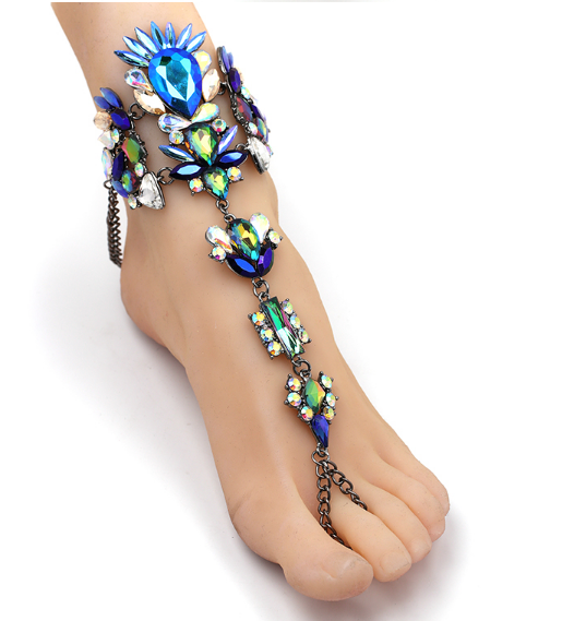 Peacock Foot Chain