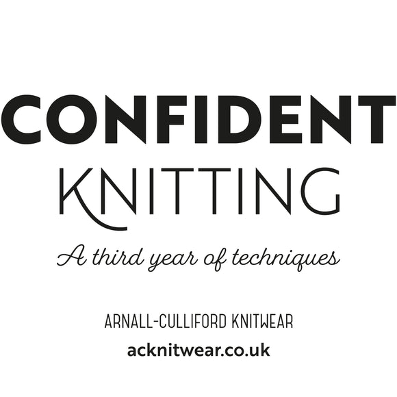Confident Knitting