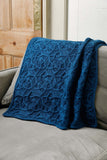 Pleione blanket by Lucy Hague from Something New to Learn About Cables