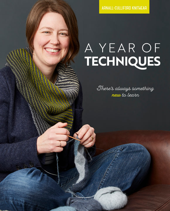 A Year of Techniques Arnall-Culliford Knitwear. Cover image.