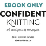 Confident Knitting eBook only
