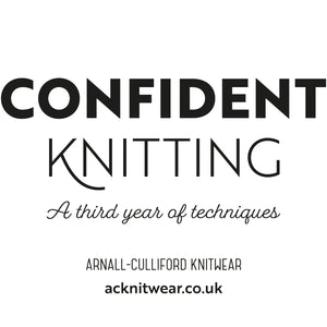 Confident Knitting Print + eBook
