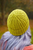 Areto hat by Rachel Coopey from Something New to Learn About Cables