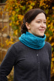 Pleione cowl by Lucy Hague from Something New to Learn About Cables