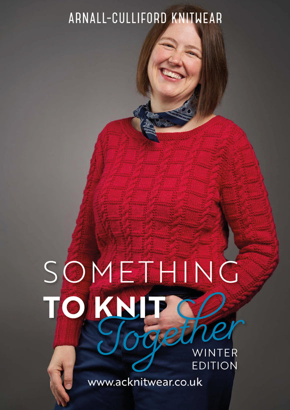 Something to Knit Together Winter Edition eBook only