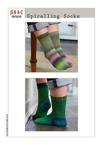 Spiralling Socks eBook