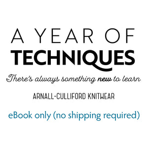 A Year of Techniques eBook only