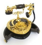 Music box, jewelry box the shape off-line elegant nostalgic telephone. An outstanding Mother's Day gift