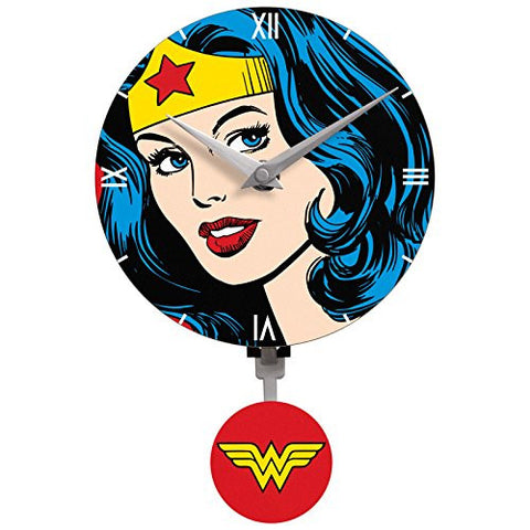Wonder woman  wall Clock, great  gift for Girls.