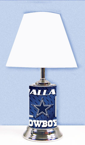 Dallas Cowboys Lamp with # 1 fan graphics wrap around the entire Lamp.