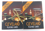 Cleveland Souvenir playing cards two  deck  gift set. A great vacation gift.