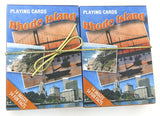 Rhode Island Souvenir playing cards two  deck  gift set