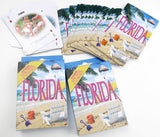 Florida Souvenir playing cards two  deck  gift set