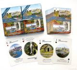 Philadelphia Souvenir playing cards two  deck  gift set