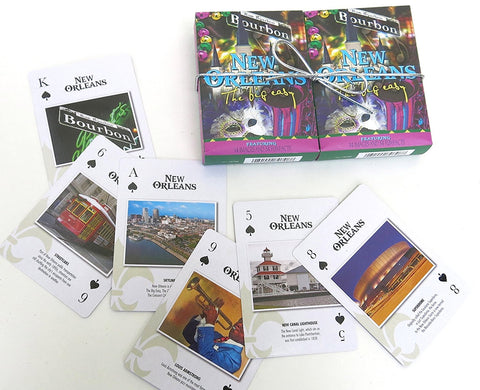 New Orleans Souvenir playing cards two  deck  gift set