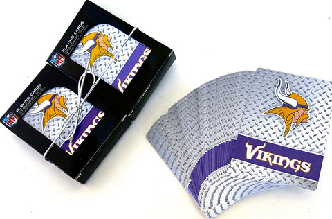 Minnesota Vikings Playing cards 2 pack