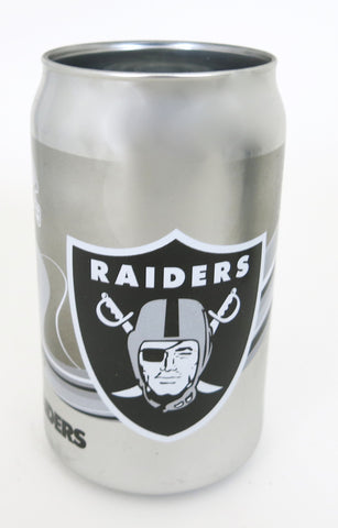 Oakland Raiders Packers playoffs Chrome Beer Can Tumbler 12 oz.