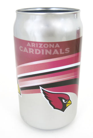 Arizona Cardinals Chrome Beer Can Tumbler 12 oz.