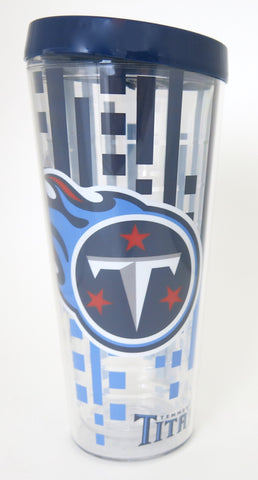 Tennessee Titans tall jumbo 22 ounce tumbler. Makes a great Father's Day gift