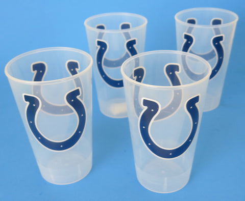 Indianapolis Colts large strong dick sturdy party cups. A great Father's Day gift.