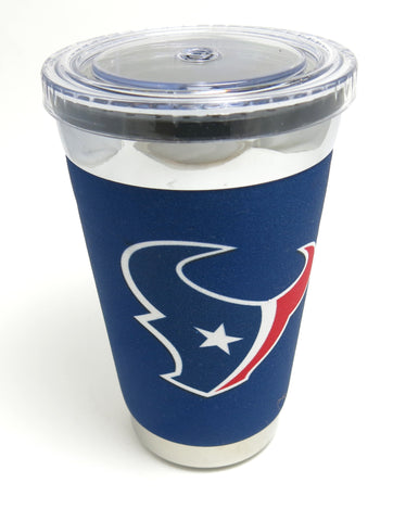 Houston Texans playoffs Ultimate Tumbler, Neoprene & Steel construction