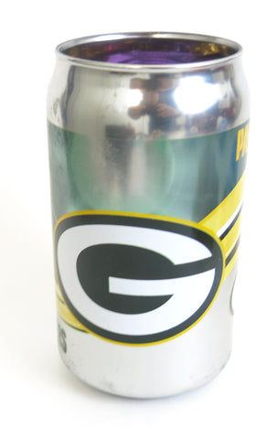 Green Bay Packers playoffs Chrome Beer Can Tumbler 12 oz.