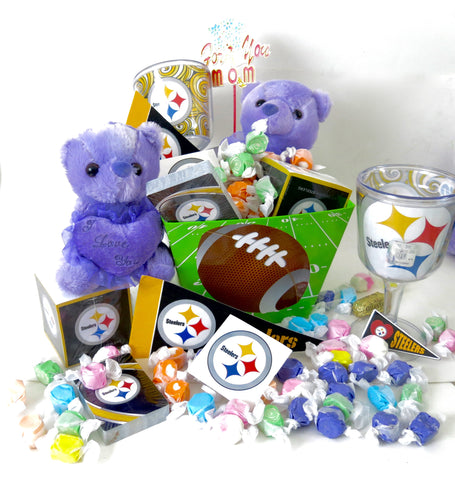 Pittsburgh Steelers Basket, great for mothers day.