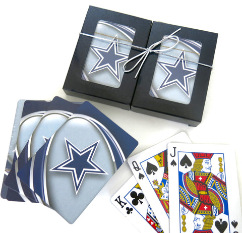 Dallas Souvenir playing cards two  deck  gift set